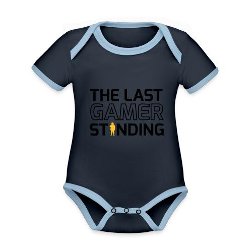 The Last Gamer Standing 2 - Organic Baby Contrasting Bodysuit