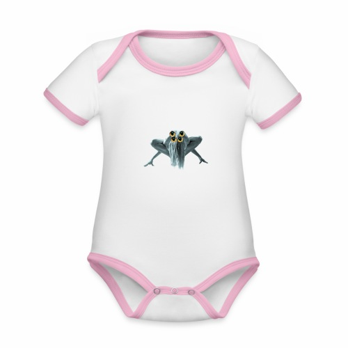 Im weird - Organic Baby Contrasting Bodysuit