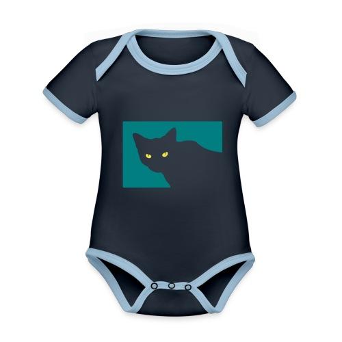 Spy Cat - Organic Baby Contrasting Bodysuit