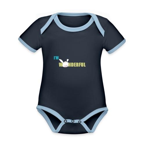 imwonderful - Body contraste para bebé de tejido orgánico