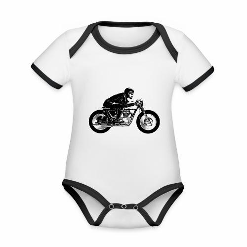 Cafe Racer 2c - Organic Baby Contrasting Bodysuit