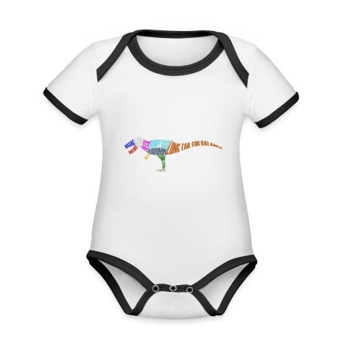 DINOSAUR - Organic Baby Contrasting Bodysuit
