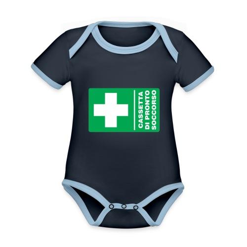 cartello png - Body da neonato a manica corta, ecologico e in contrasto cromatico