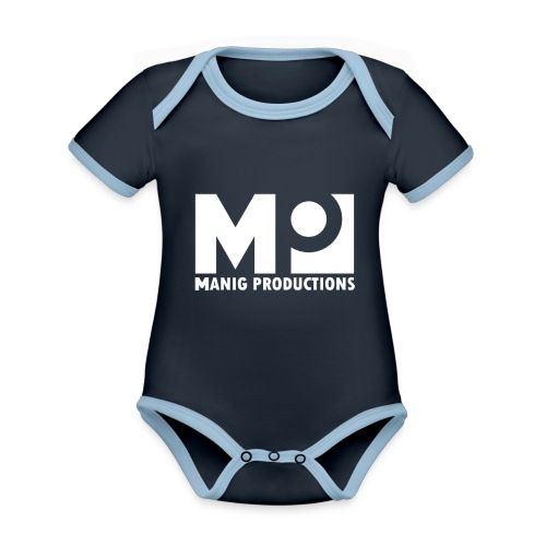 ManigProductions White Transparent png - Organic Baby Contrasting Bodysuit