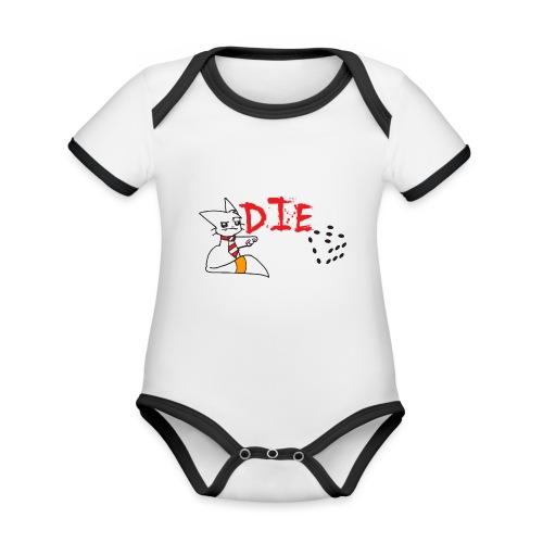 DIE - Organic Baby Contrasting Bodysuit