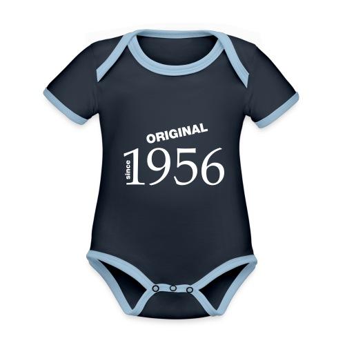 1956 - Baby Bio-Kurzarm-Kontrastbody