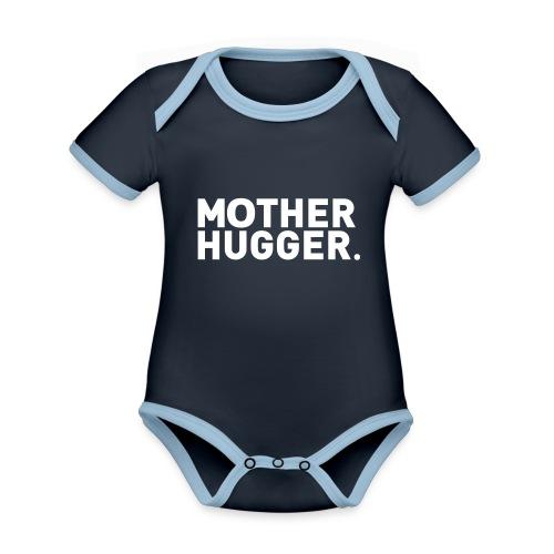 Mother Hugger - Baby Bio-Kurzarm-Kontrastbody