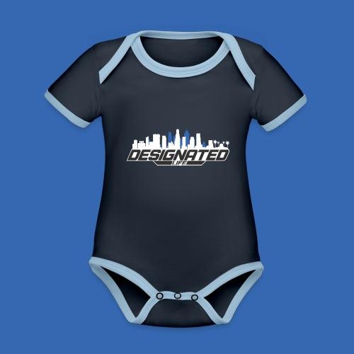 Designated - Baby Bio-Kurzarm-Kontrastbody