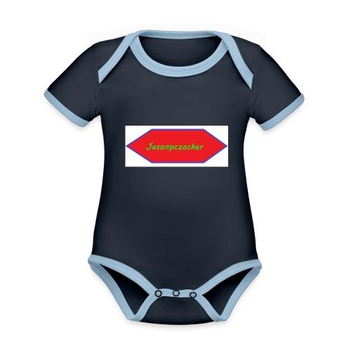 Kanalbild ohne hintergrund mit fühlung - Baby Bio-Kurzarm-Kontrastbody