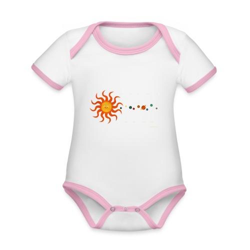 Solar System - Organic Baby Contrasting Bodysuit