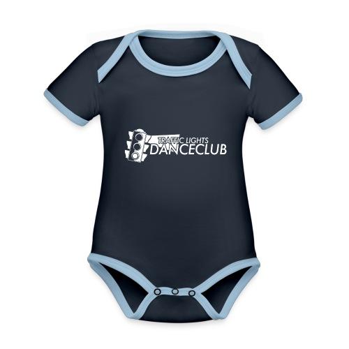 Traffic Lights Danceclub - Baby Bio-Kurzarm-Kontrastbody