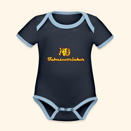 Tabascotrinker, Maya - Baby Bio-Kurzarm-Kontrastbody