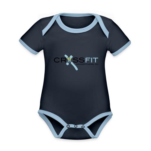 CFU - Baby Bio-Kurzarm-Kontrastbody