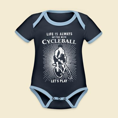 Radball   Always - Baby Bio-Kurzarm-Kontrastbody