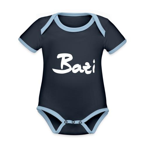 Bazi - Baby Bio-Kurzarm-Kontrastbody