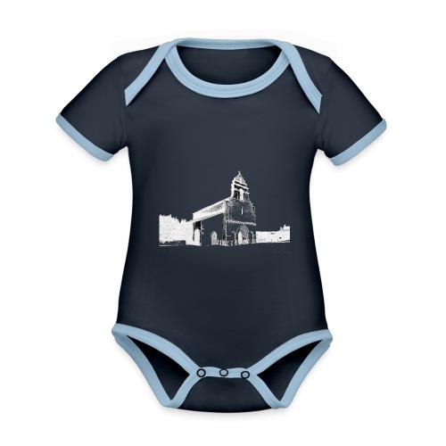 J'aime Saint-Nexans - Body Bébé bio contrasté manches courtes