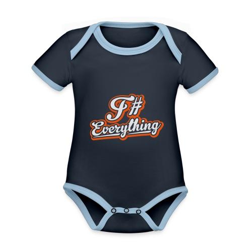 F# Everything - Organic Baby Contrasting Bodysuit