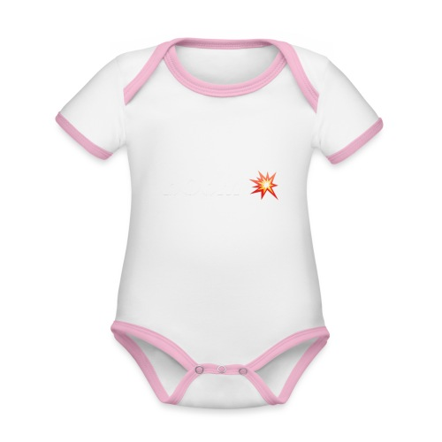 bOoM - Organic Baby Contrasting Bodysuit