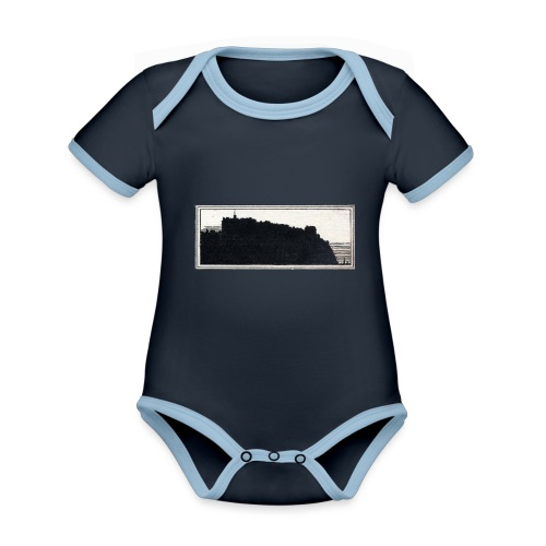back page image - Organic Baby Contrasting Bodysuit
