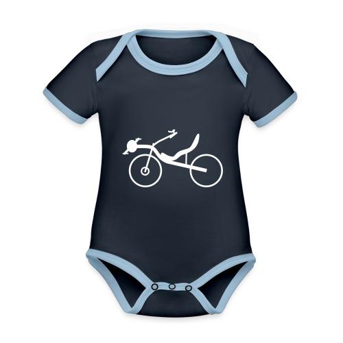Raptobike - Baby Bio-Kurzarm-Kontrastbody
