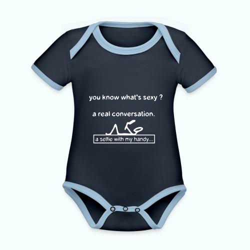 what's sexy v 1702410_13 - Baby Bio-Kurzarm-Kontrastbody