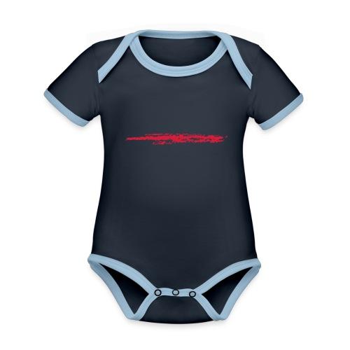 Linie_02 - Baby Bio-Kurzarm-Kontrastbody