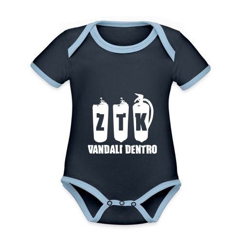 ZTK Vandali Dentro Morphing 1 - Organic Baby Contrasting Bodysuit