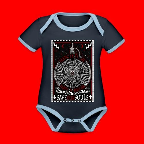 SaveOurSouls - Organic Baby Contrasting Bodysuit