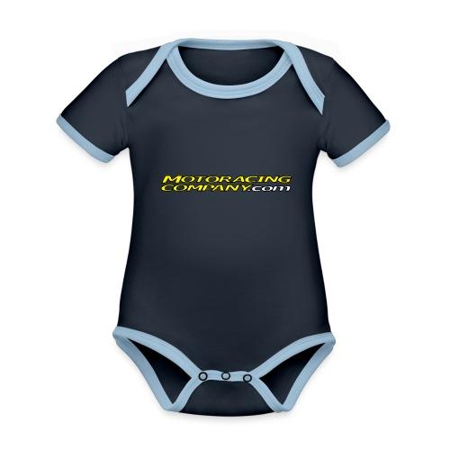 MRC - Vauvan kontrastivärinen, lyhythihainen luomu-body