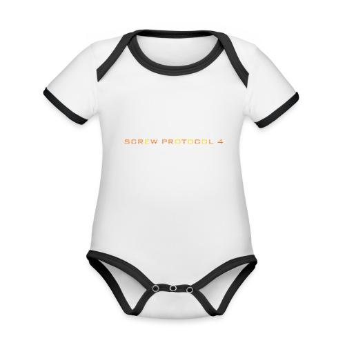 ScrewP4 Final - Organic Baby Contrasting Bodysuit