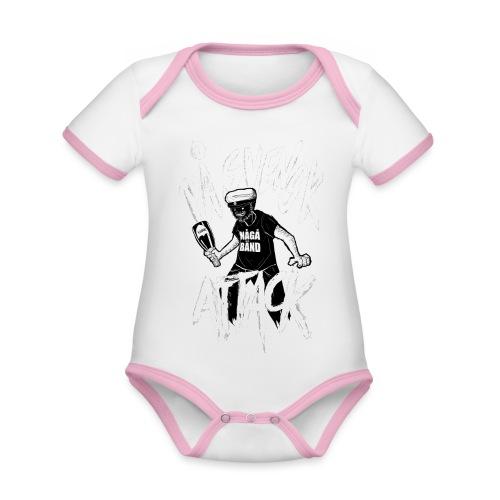 På Svenska Tack - Organic Baby Contrasting Bodysuit