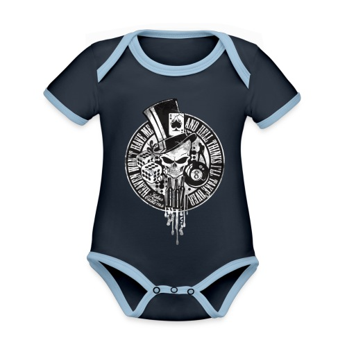 Kabes Heaven & Hell T-Shirt - Organic Baby Contrasting Bodysuit