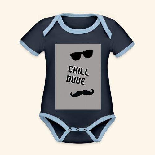 Cool tops - Organic Baby Contrasting Bodysuit