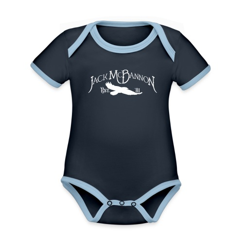 Jack McBannon - Crow 81 - Baby Bio-Kurzarm-Kontrastbody