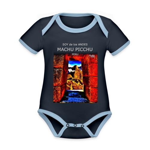 SOY de los ANDES - Machu Picchu II - Organic Baby Contrasting Bodysuit