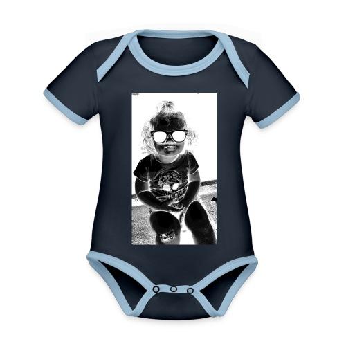 D3 - Organic Baby Contrasting Bodysuit
