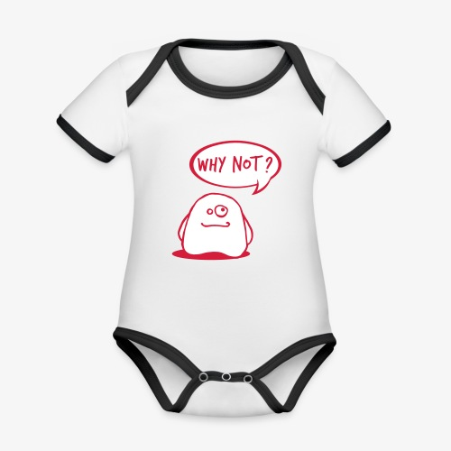 gosthy - Organic Baby Contrasting Bodysuit