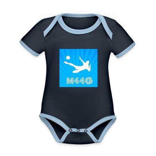 M44G clothing line - Organic Baby Contrasting Bodysuit