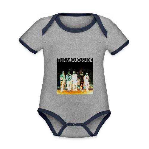 The Mojo Slide - Design 2 - Organic Baby Contrasting Bodysuit