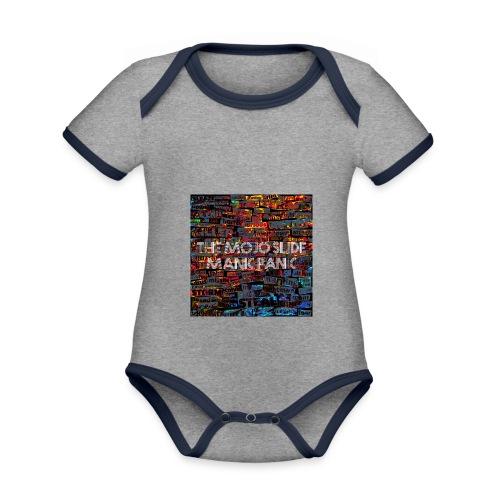 Manic Panic - Design 1 - Organic Baby Contrasting Bodysuit