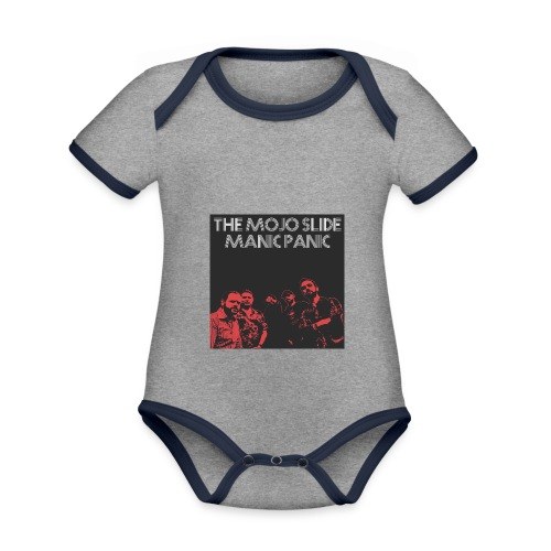 Manic Panic - Design 2 - Organic Baby Contrasting Bodysuit