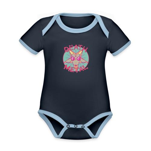 HEAVY METAL PARODY - Organic Baby Contrasting Bodysuit