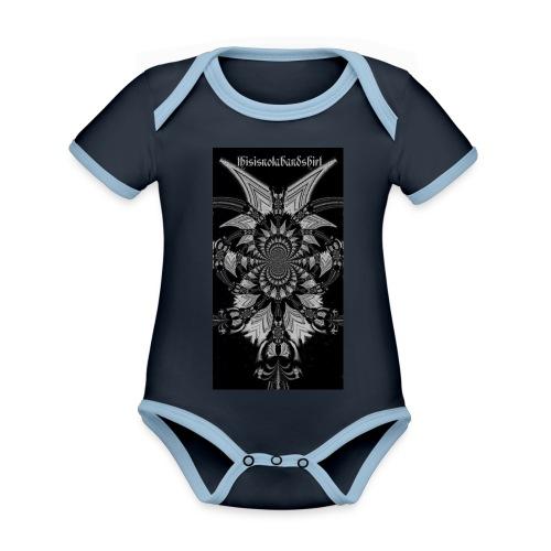 tineb5 jpg - Organic Baby Contrasting Bodysuit