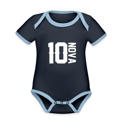 Nova 10 Jumper - Organic Baby Contrasting Bodysuit