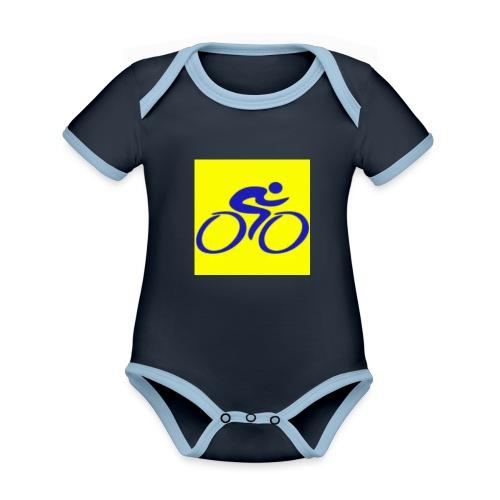 Tour de Epe Logo 2017 2018 1 png - Baby contrasterend bio-rompertje met korte mouwen