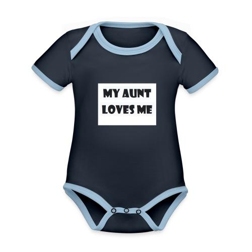 gifts for nephew - Body contraste para bebé de tejido orgánico