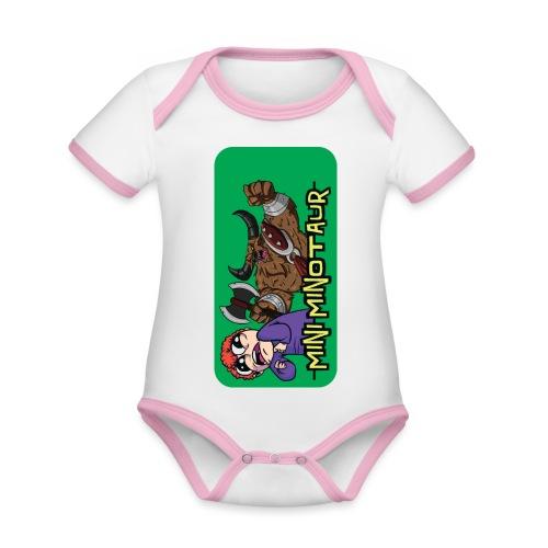 iphone 44s01 - Organic Baby Contrasting Bodysuit