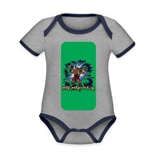 iphone 44s02 - Organic Baby Contrasting Bodysuit