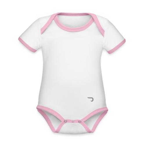 CORED Emblem - Organic Baby Contrasting Bodysuit