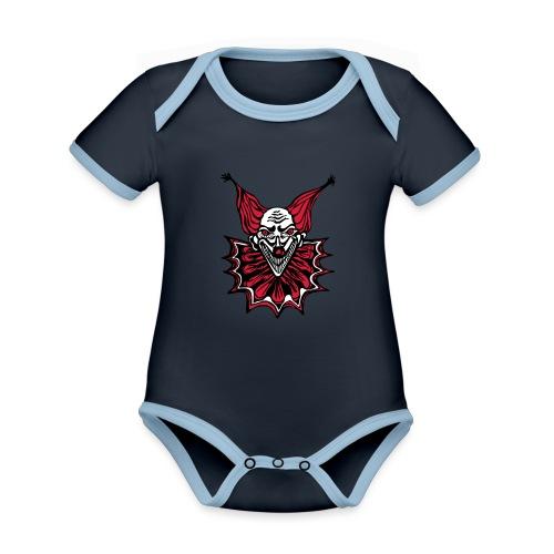 The Clown - Organic Baby Contrasting Bodysuit